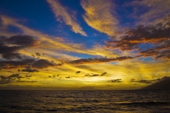 Sunset Maui, Hawaii